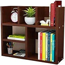 GSHWJS Desktop Bookshelf Simple Books Sundries