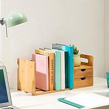 GSHWJS Desktop Bookshelf Simple Desk Bookshelf