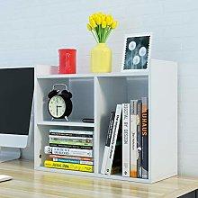GSHWJS Desktop Bookshelf Small Storage Cabinet