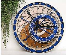 GSYNXYYA Wall Clock,Laser engraving minimalist