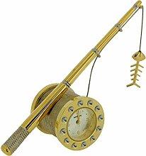 GTP Miniature GoldTone Fishing Rod Novelty