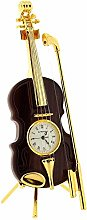 GTP Miniature Goldtone Wood Finish Violin With Bow