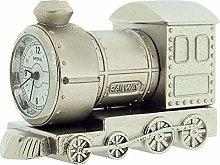 GTP Miniature Silvertone Metal Steam Engine Train