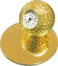 GTP Unisex Miniature Golf Ball Card Holder & Clock