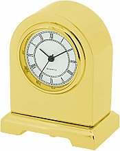 GTP Unisex Norman Arch Design Goldtone Plated on