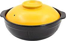 GTTYQT 2.1L Terracotta Stew Pot Casserole Crock