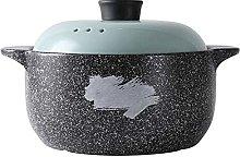 GTTYQT Terracotta Stew Pot Casserole Crock Pot