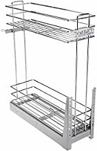 GTV Pull Out Soft Close Wire Basket Base Storage