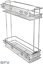 GTV Pull Out Wire Storage Basket for Kitchen Unit