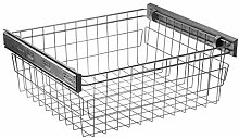 GTV Soft close pull out wardrobe wire basket, Shoe