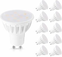 GU10 LED Bulbs, 6W(50W Equivalent), 3000K Warm