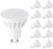 GU10 LED Bulbs, 6W(50W Equivalent), 6000K Daylight
