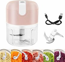 GUANGE 250ml Electric Mini Garlic Chopper,