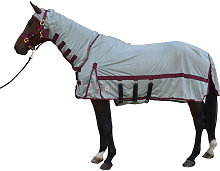 Guardian Fly Rug And Fly Mask (5´ 6´´) (Silver)