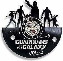 Guardians of the Galaxy Vinyl Record Clock Gif