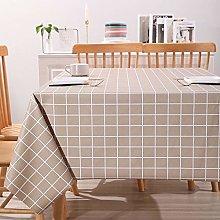 guatan Tablecloth Rectangular,Pvc Oblong Table