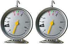 GuDoQi 2 Pack Oven Thermometer Monitoring