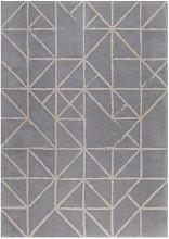 Guernsey Gris Rug - 170 x 240 cm / Grey / Wool
