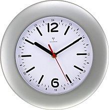 Guerra Wall Clock Mercury Row Colour: Silver