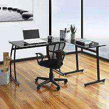 Guglielmo L-Shape Computer Desk Ebern Designs