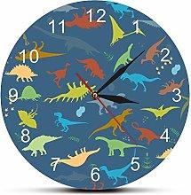 guijinpeng Wall Clocks Dinosaurs Ancient Species