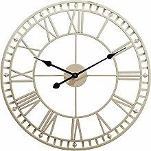 guijinpeng Wall Clocks Iron Art Garden Wall Clock