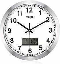 guijinpeng Wall Clocks12 inch 12 Inch Decorative