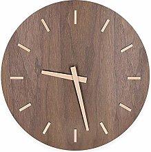 guijinpeng Wall Clocks12 inch 12-Inch Large Wooden