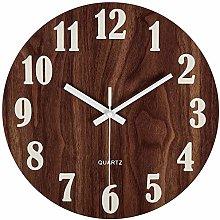 guijinpeng Wall Clocks12 inch 12 Inch Night Light