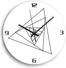 guijinpeng Wall Clocks12 inch Acrylic DIY Wall