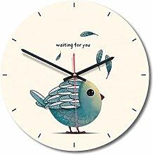 guijinpeng Wall Clocks12 inch Creative Cartoon