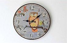 guijinpeng Wall Clocks12 inch Modern Quartz Wall
