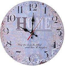 guijinpeng Wall Clocks12 inch Vintage Style