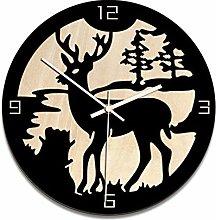 guijinpeng Wall Clocks12 inch Wall Clock Nordic