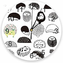 guijinpeng Wall Clocks154 inch Hedgehog Cartoon