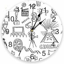 guijinpeng Wall Clocks174 inch Cartoon Sketch