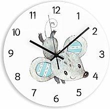 guijinpeng Wall Clocks270 inch Cute Rat Decorative