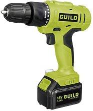 Guild 1.3Ah Cordless Hammer Drill - 18V