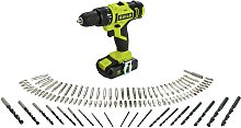 Guild 1.5Ah Cordless Hammer Drill with 100