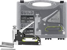 Guild 3-in-1 Manual Nail, Staple and U-Staple Gun