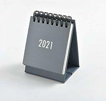 Guillala Mini 2021 Standing Desk Calendar Monthly
