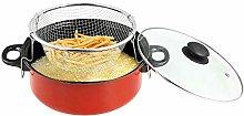 Guilty Gadgets Non Stick Pan Chips Deep Fat Fryer
