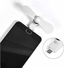 Guilty Gadgets Portable Mini Fan Cooler Android