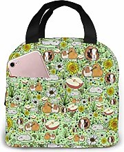 Guinea Pigs Lunch Bag Cooler Bag Insulated