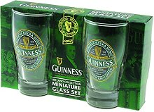 Guinness Green Collection Mini Pint Glass, Set of