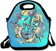 Guitar B Easy Outdoor Lunch Bag Lunch Box Thermal