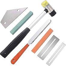 Guitar Luthier Tool Kit Fret Crowning File Hammer