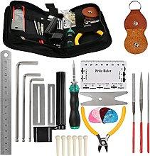 Guitar Repairing Maintenance Tool Kit Guitar Care