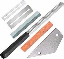 Guitar Repairing Tool Kit 6pcs Grinding Stone