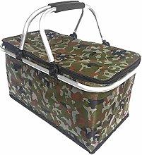 Gulin Cooler Bag Insulated Basket Foldable 30L